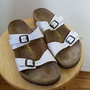 Birkenstock Shoes | 100 Nib Arizona Birko Flor Size 43